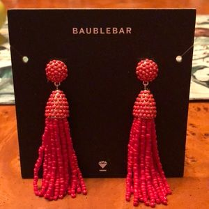 NEW! Baublebar piñata tassel drop earrings.